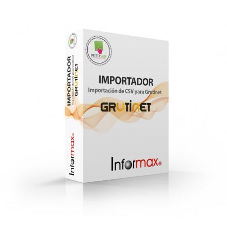 Prestashop Module Importing XML for Grutinet