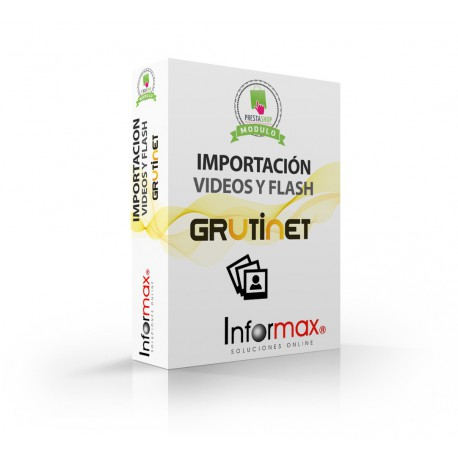 Module Importacion Prestashop for Grutinet, to display the Videos and Flash