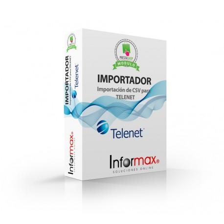 Prestashop Module, Supplier Importer, Telenet