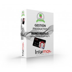 Bono Regalo Prestashop compatible version 1.4 y 1.5