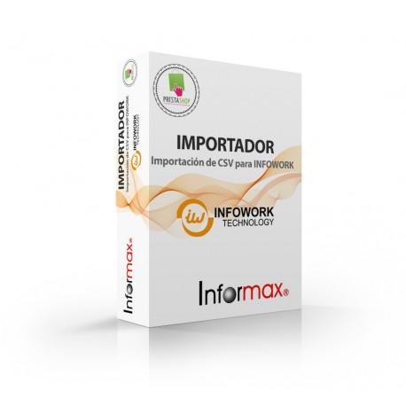 InfoWorks Importer Prestashop Module