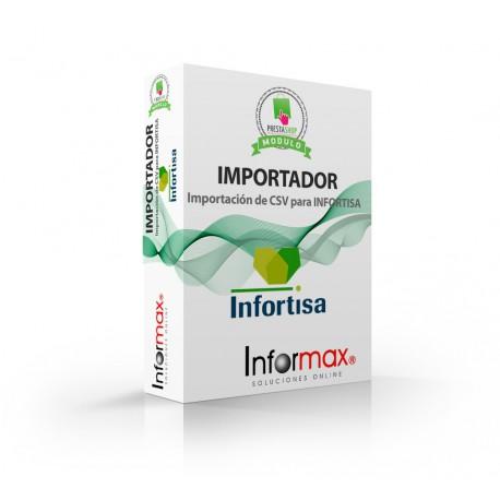Prestashop importer module for infortisa
