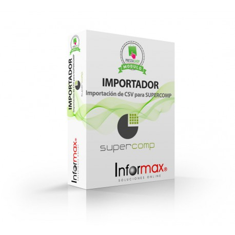Modulo Prestashop Importador de SuperComp