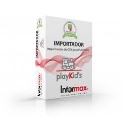 Modulo Prestashop Importacion de Play Kids