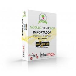 Prestashop module to import Max Movil