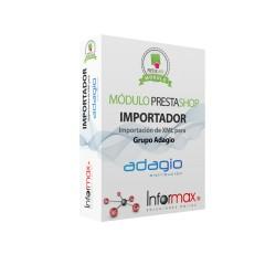 Módulo Prestashop Importación de XML para ADAGIO