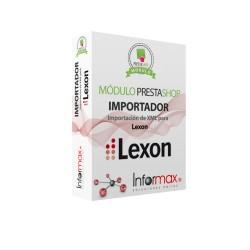 Módulo Prestashop Importación de XML para LEXON