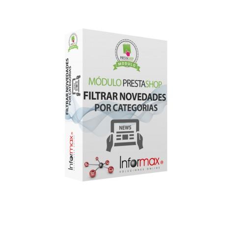 Modulo Prestashop filtra que productos se muestran o no en novedades