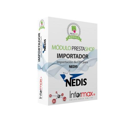Modulo Prestashop Importador de CSV de Nedis