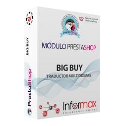 Modulo Prestashop Big Buy para traducir el catálogo